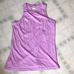 Lou and Grey Racerback Pale Lavendar Tank Top